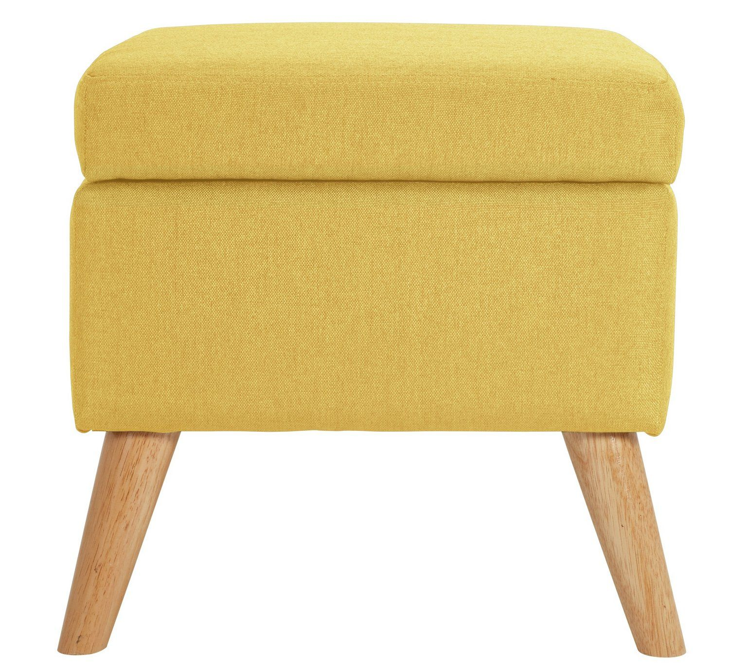 Superb Buy Hygena Lexie Fabric Storage Footstool Yellow At Argos Pdpeps Interior Chair Design Pdpepsorg