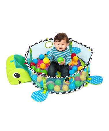 This Grow With Me Activity Gym Amp Ball Pit By Infantino Is