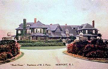 Bleak House, Newport, RI. Residence of Marsden Jaseal ...