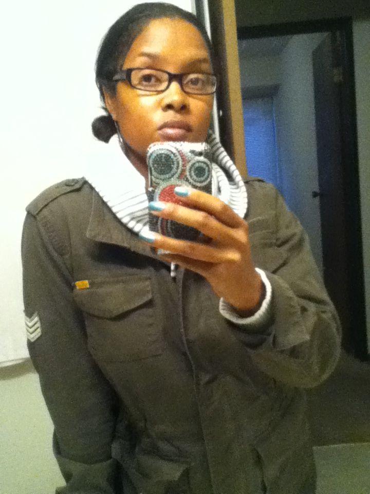 I love army jackets.