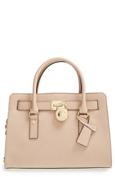 Michael Kors Medium Hamilton Saffiano Leather Satchel Available At Nordstrom