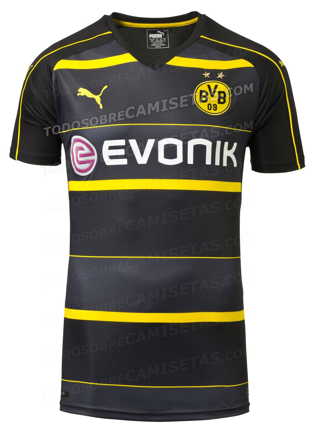 Borussia Dortmund 16 17 Puma away kit LEAKED