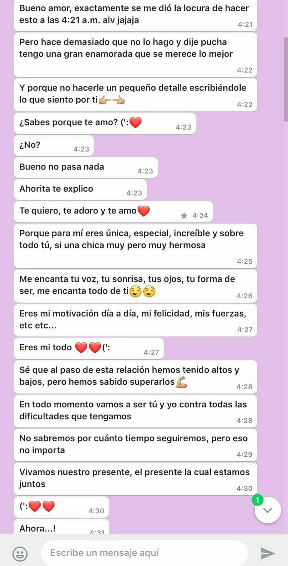 Un Mensaje Así Mesajes De Amor Mensajes Para Mi