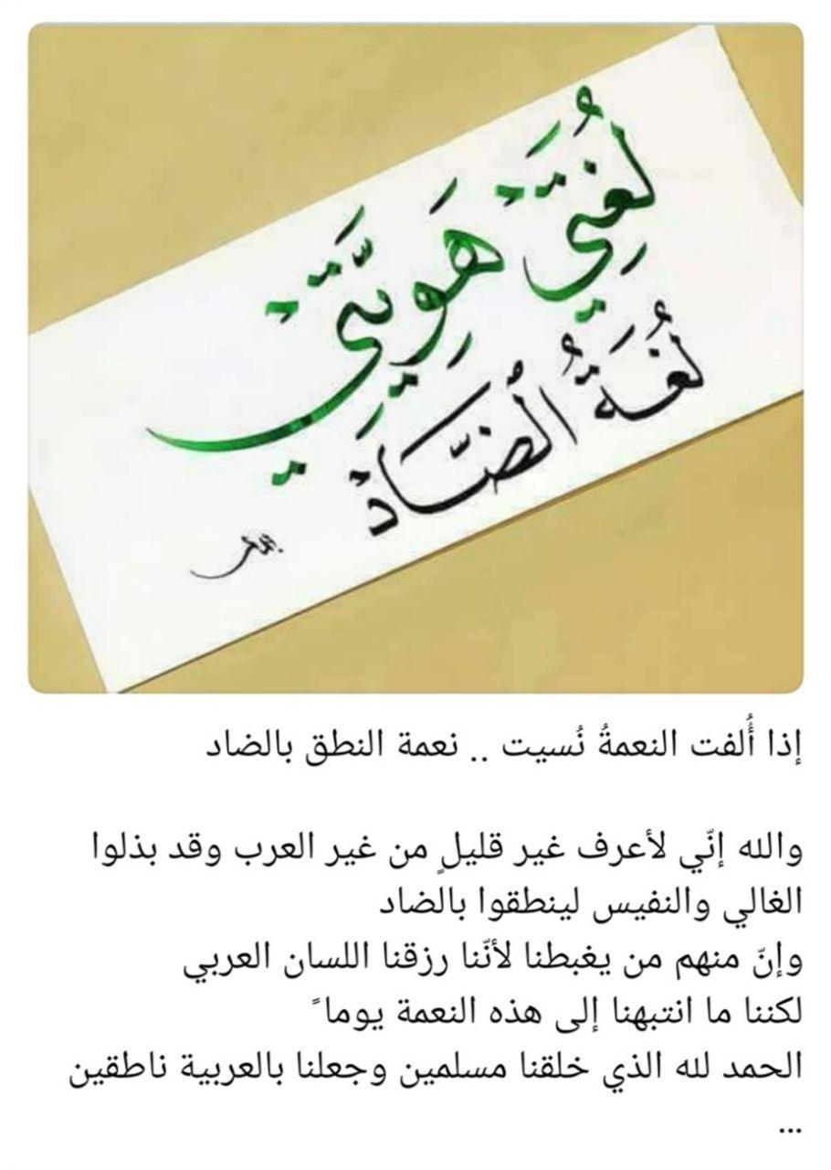 Pin By Soso On أهمية اللغة العربية Arabic Calligraphy Calligraphy