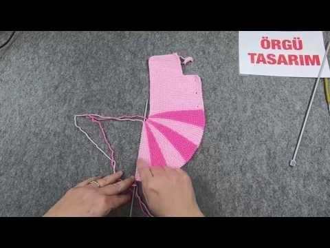 Lolipop Kız Bebek Yelek Modeli Yapılışı Anlatımlı Türkçe Videolu