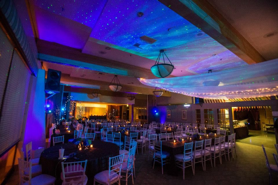 Corporate Event Room Lighting Blue Green Water Effect Bar Bat Mitzvah Design Db Creativity Laura Dbcreativity