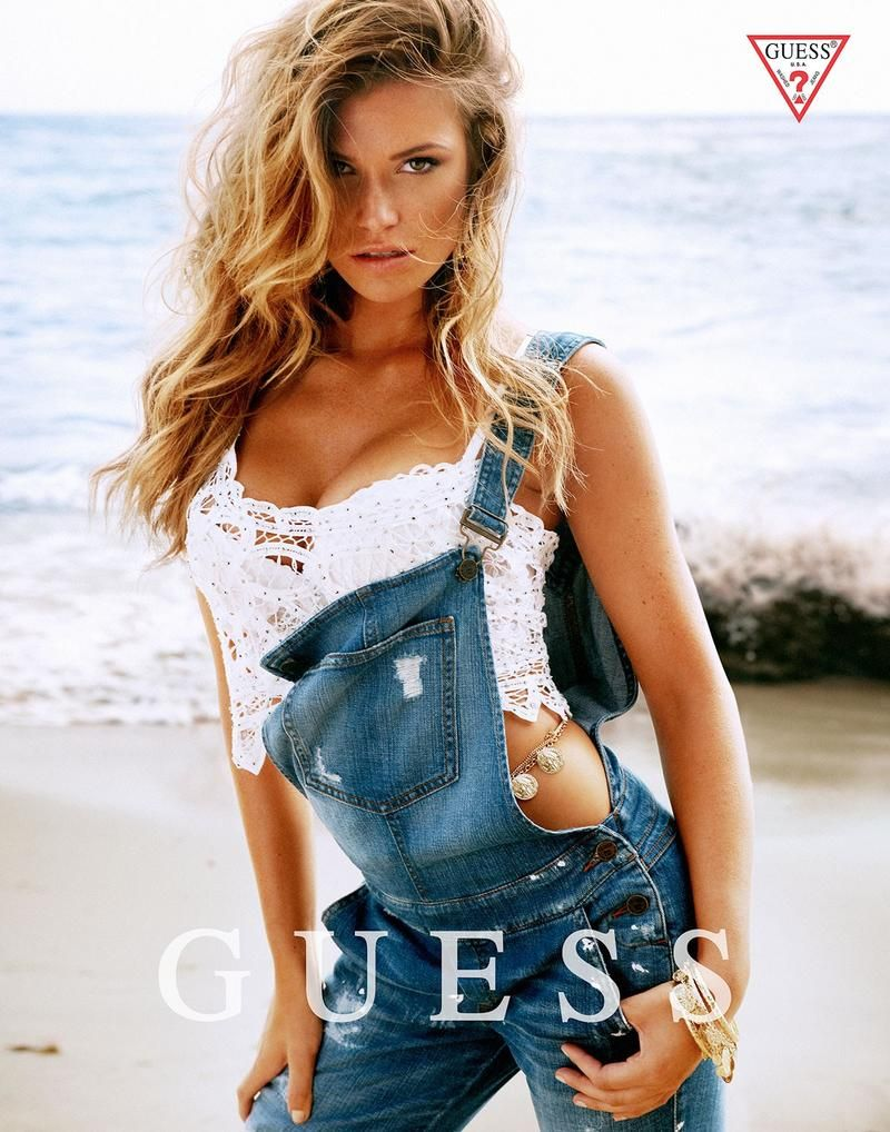 Guess Spring/Summer 2014 Campaign - Samantha Hoopes