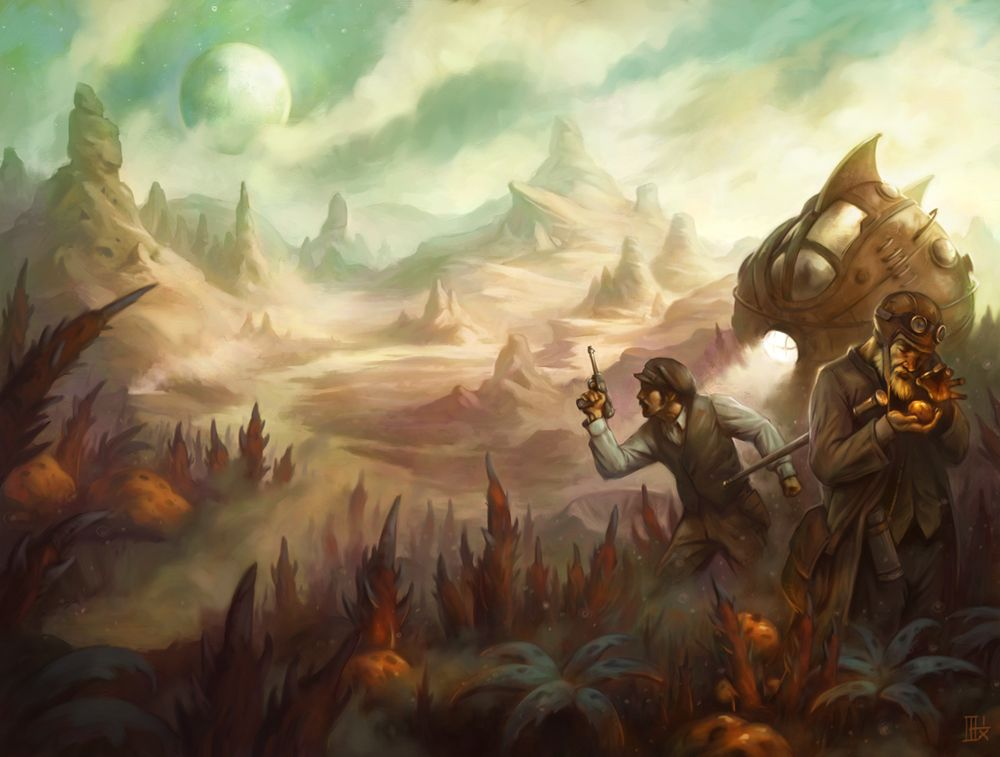 steampunk landscape related keywords steampunk landscape