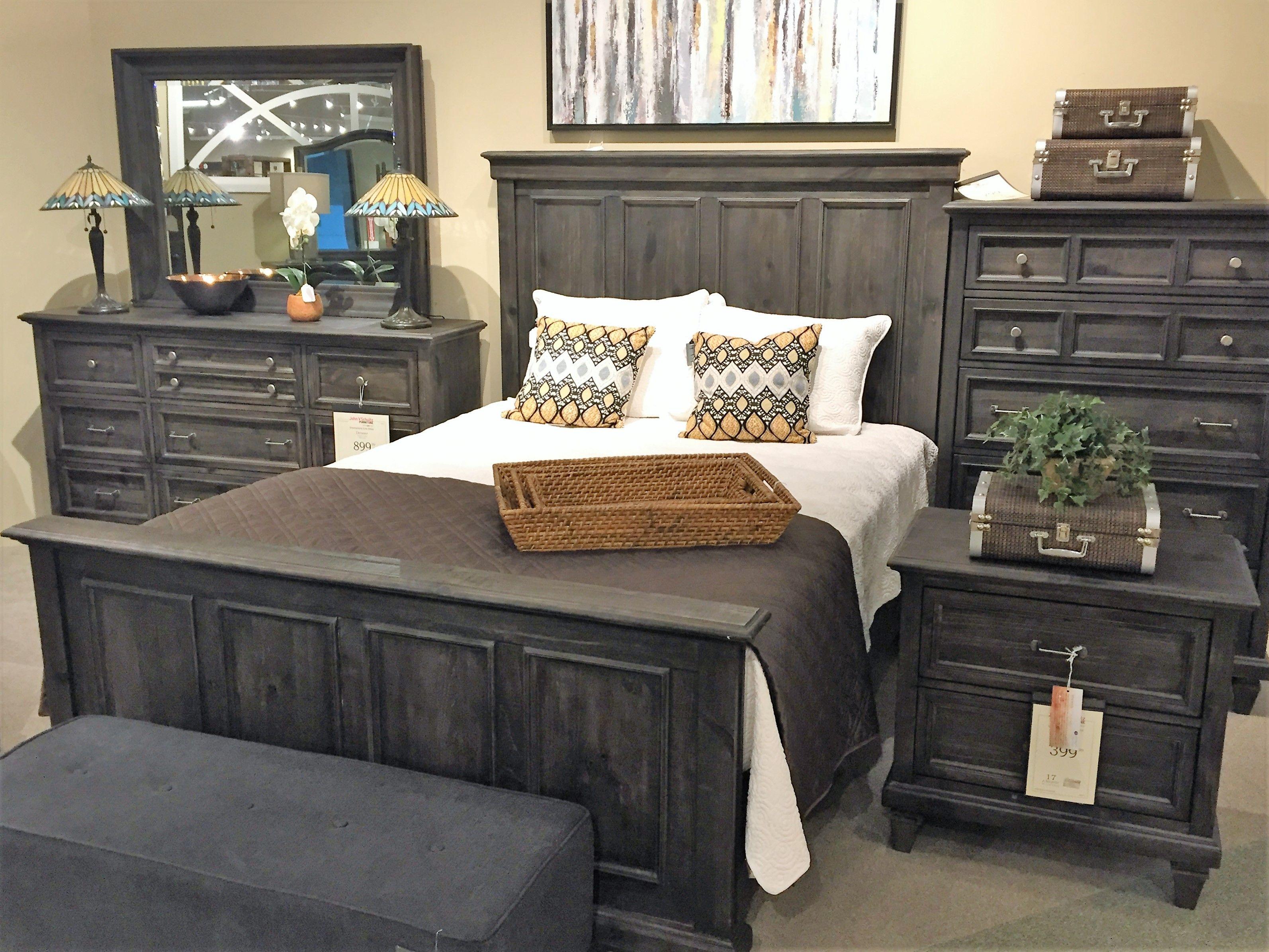 Shop For The Magnussen Home Calistoga Queen Bedroom Group At John V Schultz  Furniture   Your Erie, Meadville, Pittsburgh, Warren, Pennsylvania Furniture  ...