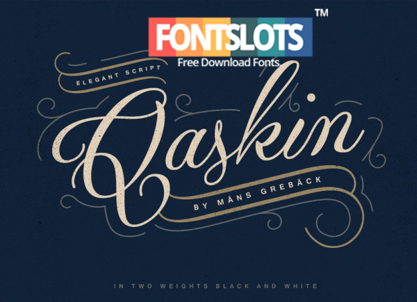 Qaskin black font free download fonts pinterest fonts and font
