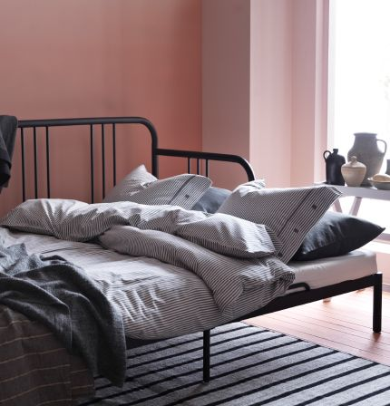 les 25 meilleures id es de la cat gorie lit deux personnes sur pinterest lit 2 personnes. Black Bedroom Furniture Sets. Home Design Ideas