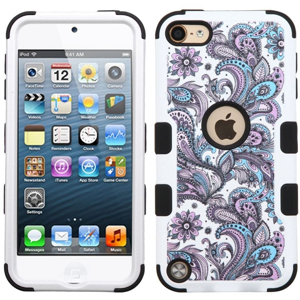 MYBAT TUFF Apple iPod Touch 5G/6G Case - European Flowers