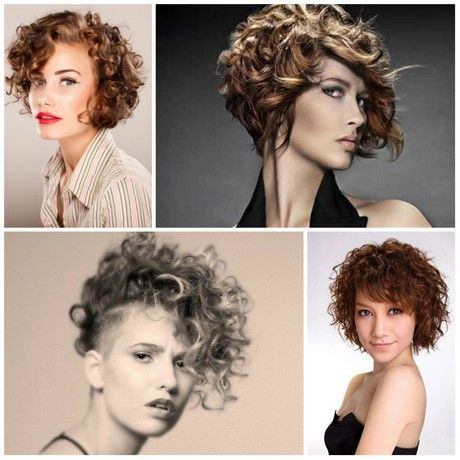 Short Curly Hairstyles For Women 2017 Short Curly Hair Curly Hair Styles Short Hair Styles 2017