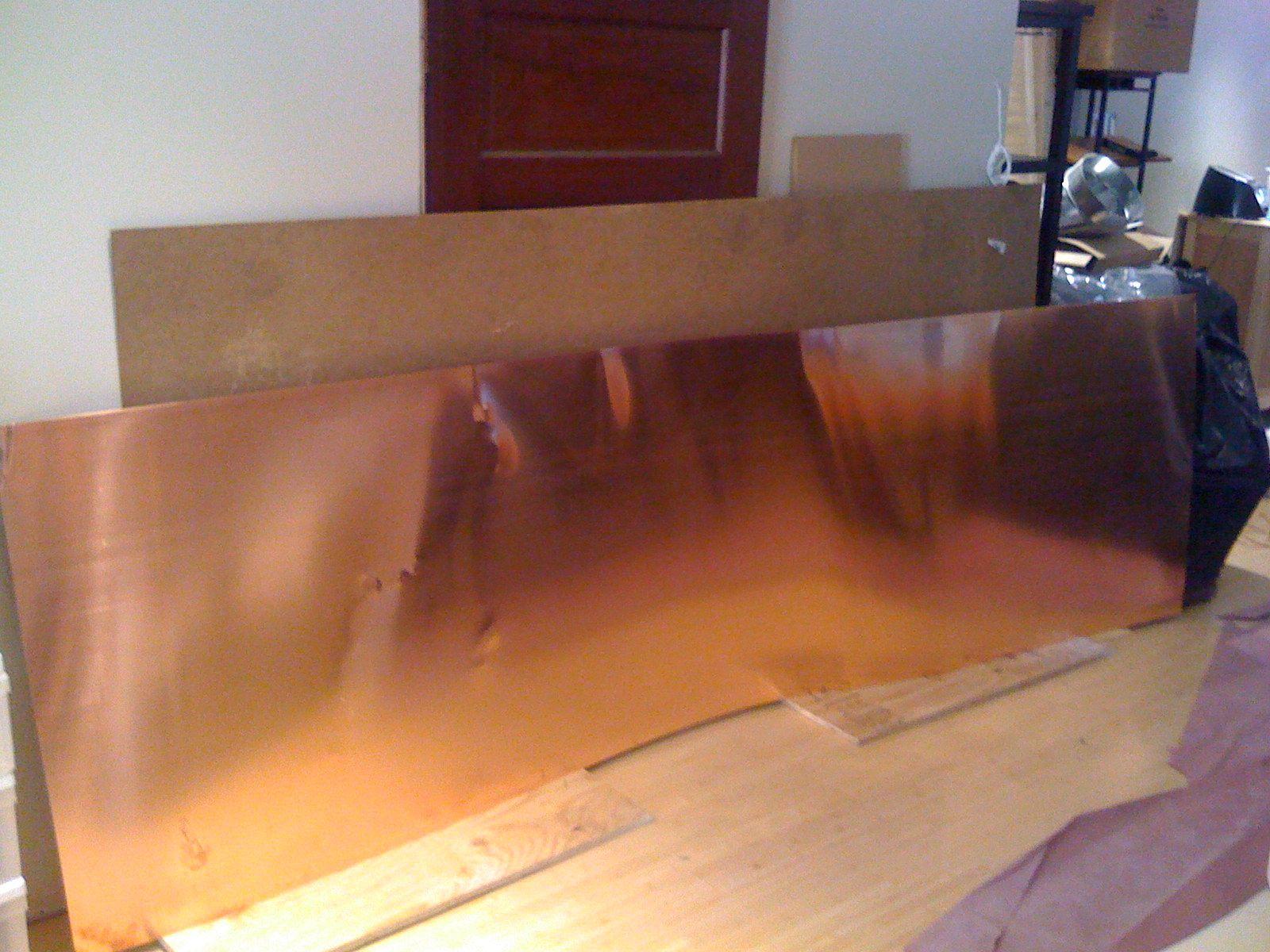 Picture 031 Jpg Copper Sheets Countertops Copper