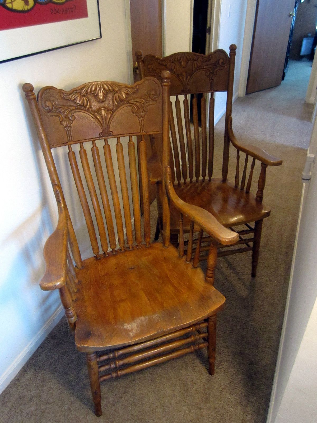 Parkersburg WV  Parkersburg Chair Company  Hand