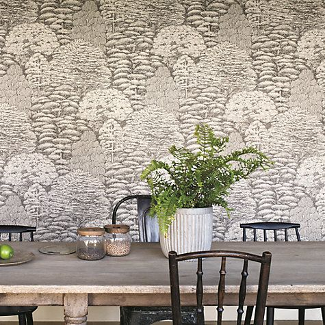 sanderson woodland toile wallpaper toiles. Black Bedroom Furniture Sets. Home Design Ideas