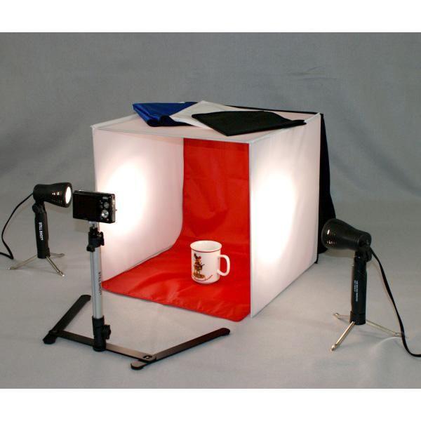 Studio Macro Box Lighting Tent Kit Photography Lights Muslin  sc 1 st  Pinterest & Studio Macro Box Lighting Tent Kit: Photography Lights Muslin ...