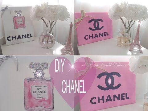 Chanel Diy Room Decor Decoracion Inspirada En Chanel