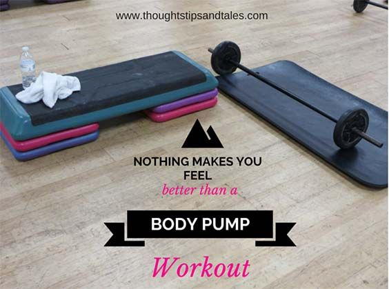 Nothing Makes You Feel Better than a BODY PUMP Workout - after you've worked all your major muscles, you feel incredible.
