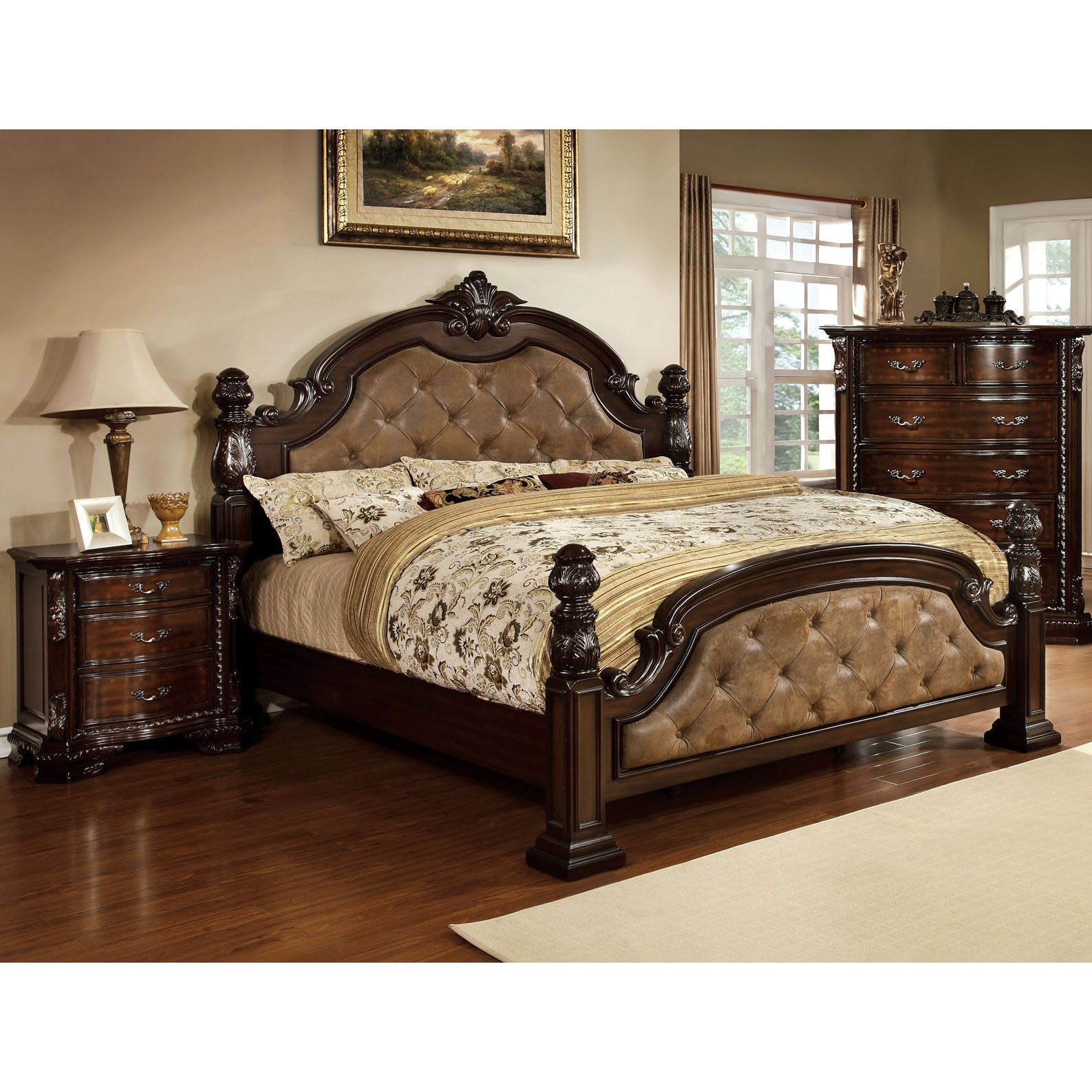 Luxury Poster Beds smallest nightstandtop pickelegant in every inch of carved