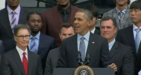 Watch World Series Champion Red Sox's White House Visit (Video) via NESN.com    Schedule    Standings    Stats  ...