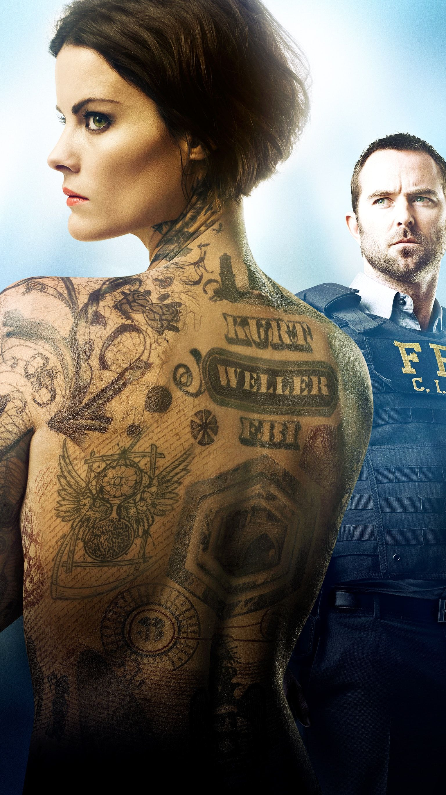 Blindspot Phone Wallpaper Tv Shows Blindspot Tv Tv Shows Tv Series