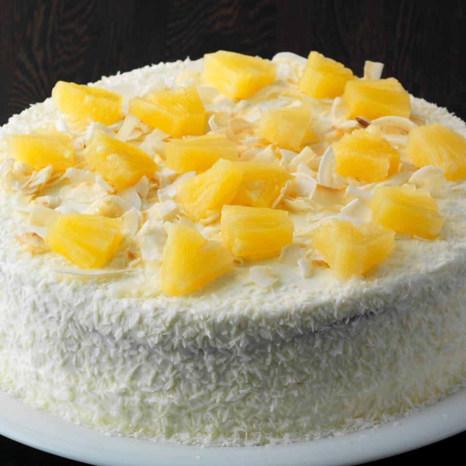 Schnelle Ananas Kokos Torte Rezept Ananas Kokos Rezepte Ananas Kuchen
