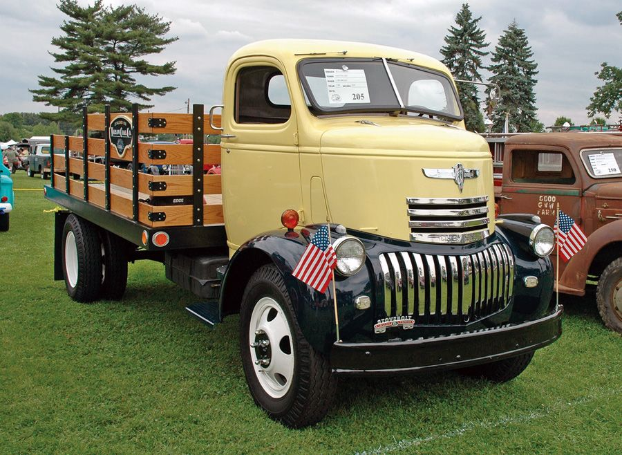 vintage trucks | april 2010 old time trucks a new nut joins the ...