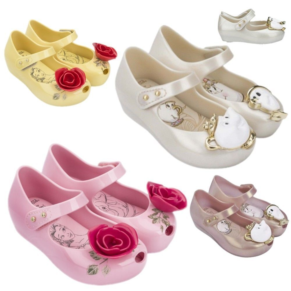 2b9604d0fa8e Beauty And The Beast Girl Kids Jelly Shoes Party Chip Cup Princess Ballet  Disney  DanskoWomensShoes