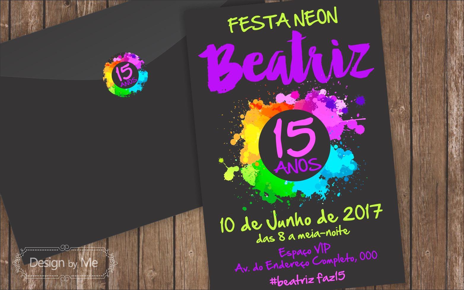 Resultado De Imagen Para Buffet Para Festa De 15 Anos Neon
