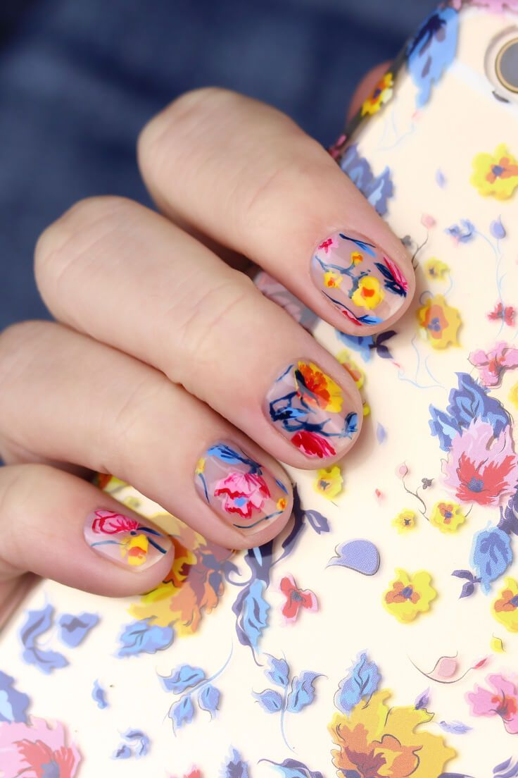 30 Playful And Beautiful Nail Art Designs For Spring Beautiful