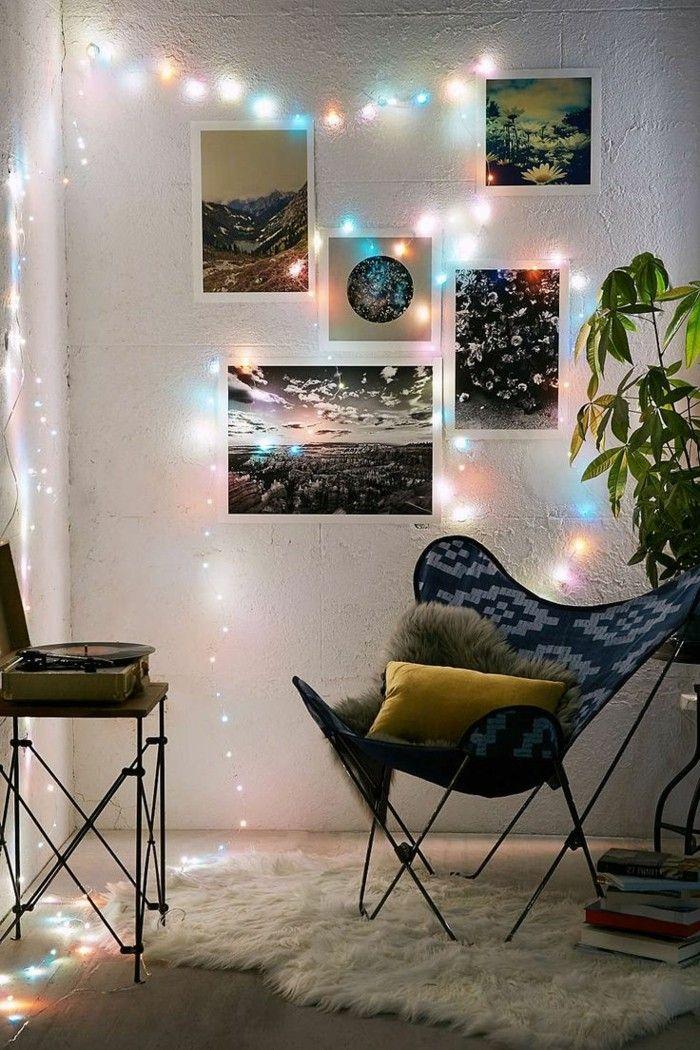 Gut Wohnungsdekoration Led Lichterketten Wanddeko Ideen