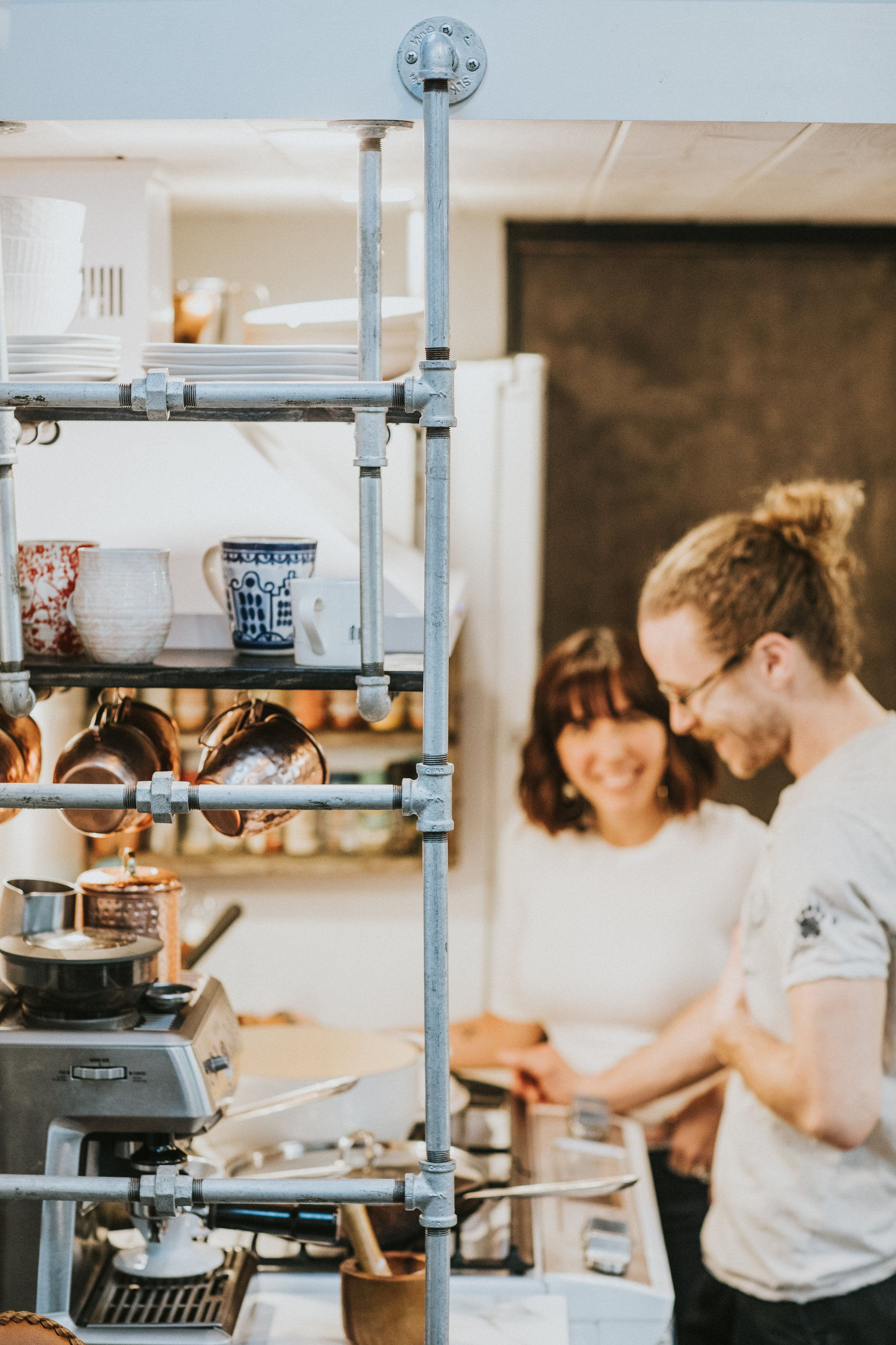 How A Chef And Baker Share The World S Smallest Kitchen Kitchens