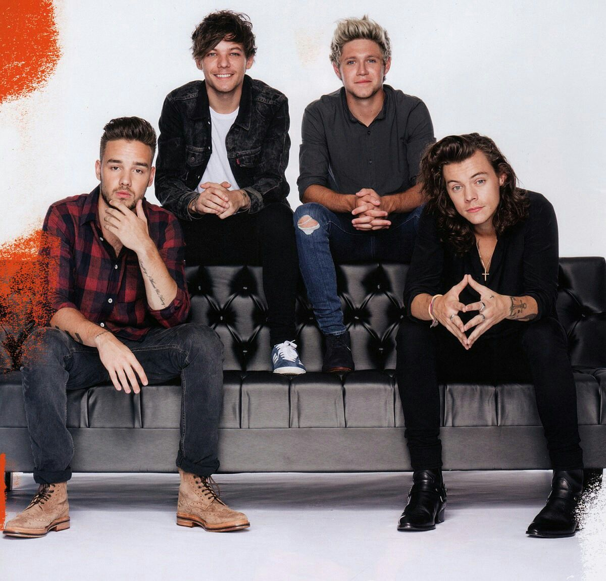 One Direction 2017 Photoshoot With Roses