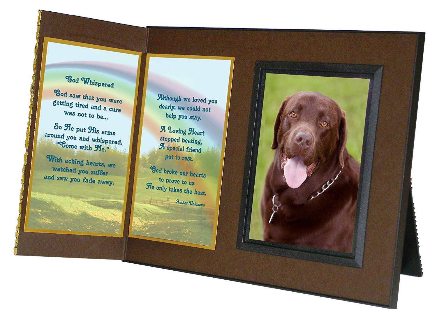 God whispered pet memorial picture frame and pet loss sympathy god whispered pet memorial picture frame and pet loss sympathy gift package with optional jeuxipadfo Choice Image