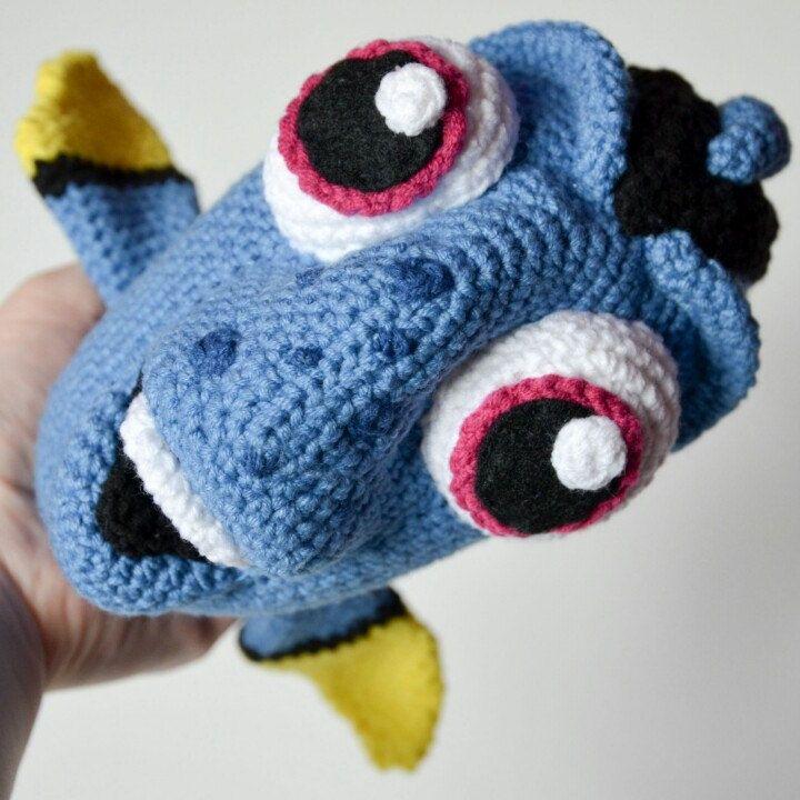 Amigurumi Dory bebé | CrochetyAmigurumis.com | 720x720