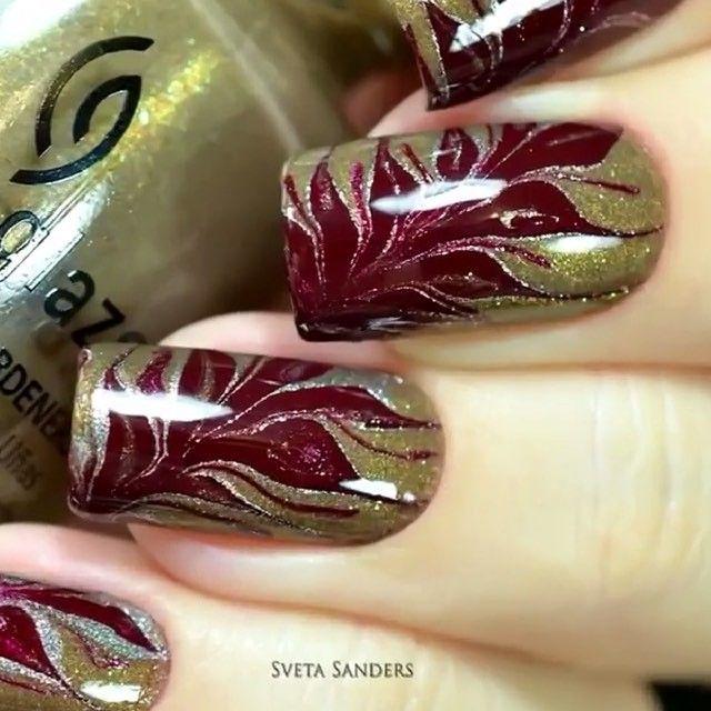 unique nail polish creation. Super cute! | nail art | Pinterest ...