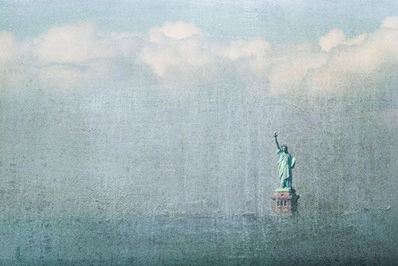 Diane Epstein Photography > Illumination Goddess of Freedom (The Statue of Liberty)     New York  ref # 8715_blue_layer http://www.epsteinphotography.com/projects/illumination/