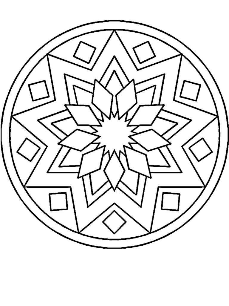 Pin de Desirée Eriksson en Mandala | Pinterest | Mandalas y Figuras ...