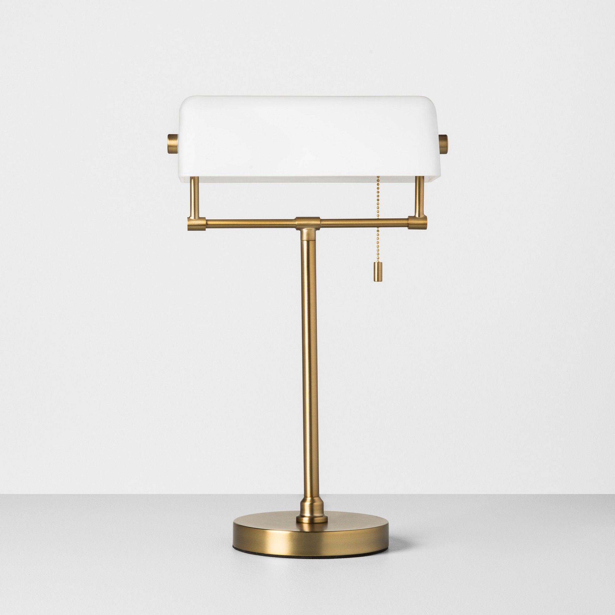 Library Table Lamp White / Gold Hearth & Hand with