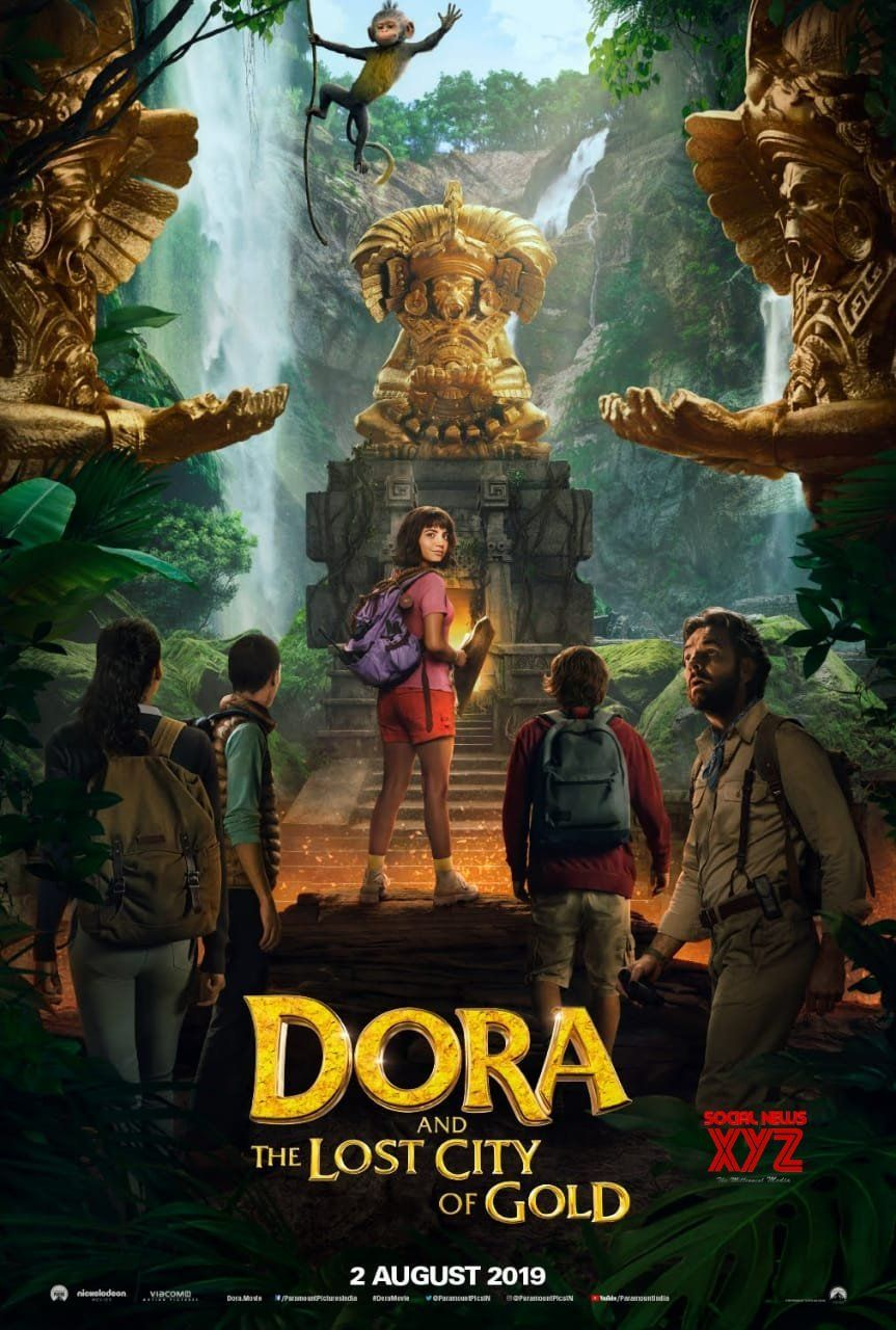 Dora And The Lost City Of Gold Movie Release Date Poster | Social