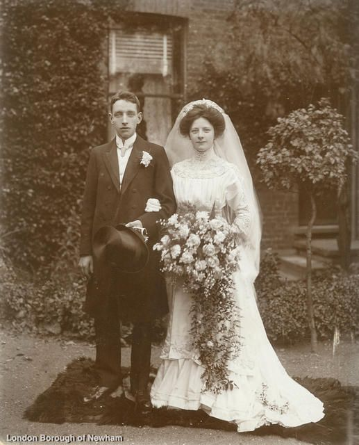 W.G. Inglis Marriage 6th July 1910 Newham