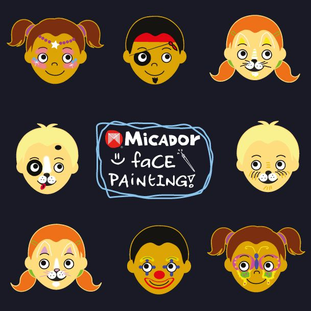face painting templates download theses fun face painting templates use with micador face painting sticks kidsart facepainting