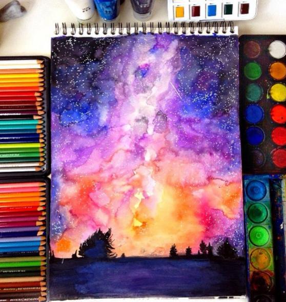 Drawing Pencil Fantastic Watercolor Pencils Works By Colorful Art Art Watercolor Art
