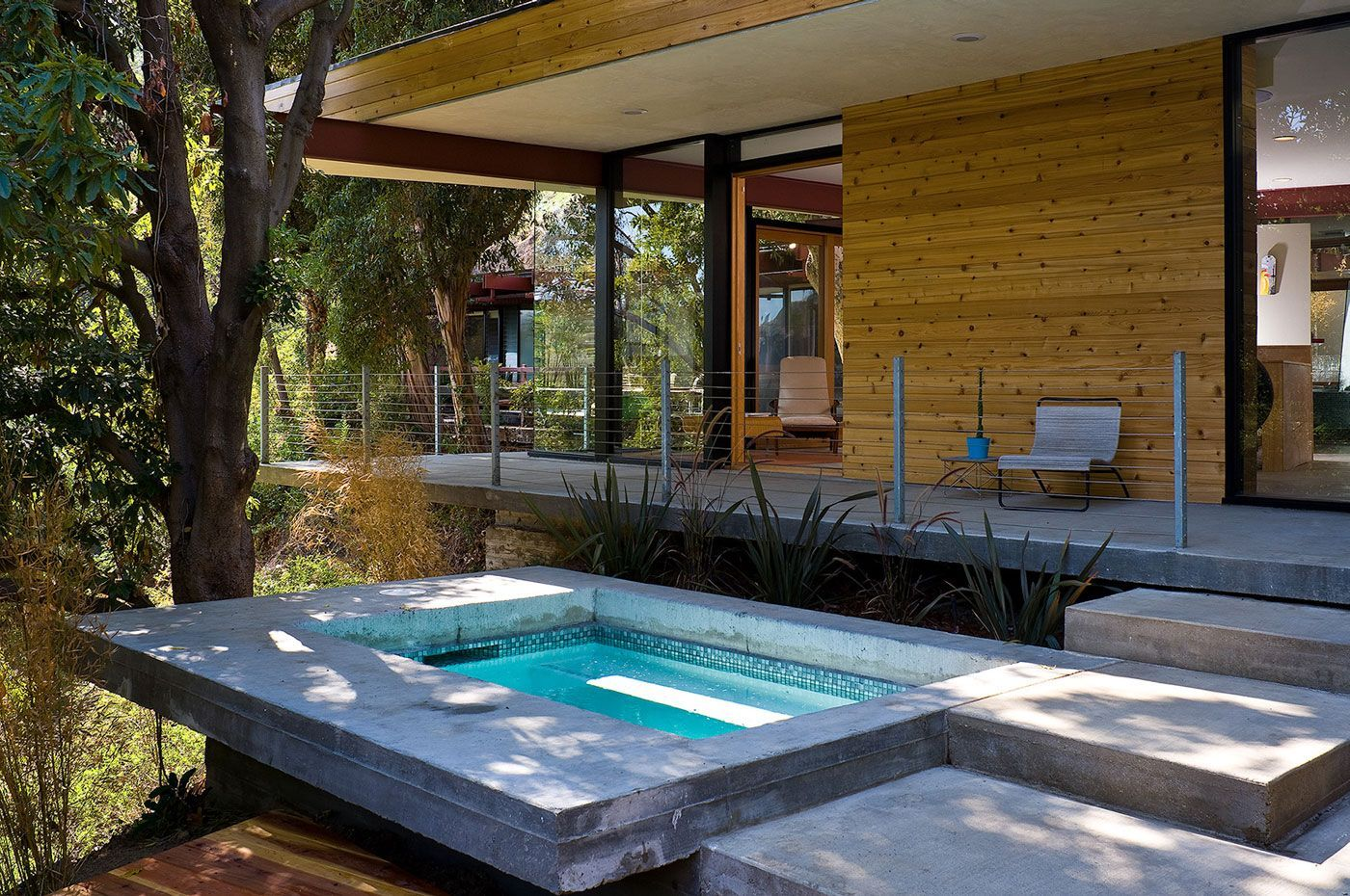 Small Pool On The Terrace