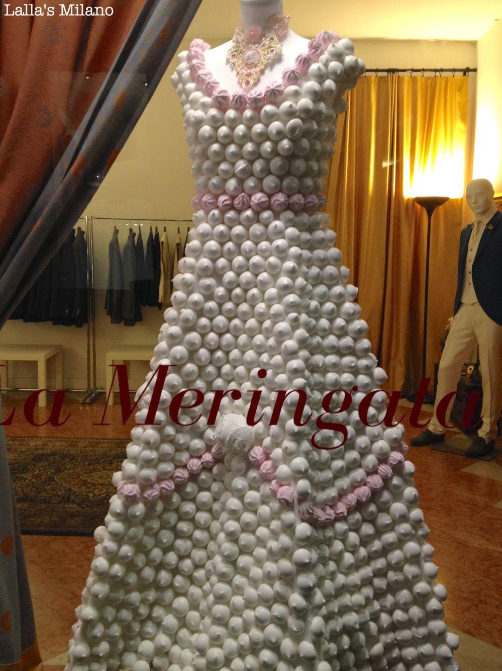 Via San Maurilio Milano want a meringue dress? in milan you can! #lameringata