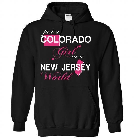 COLORADO GIRL IN NEWJERSEY - #tshirt ideas #sudaderas sweatshirt. PURCHASE NOW => https://www.sunfrog.com/Valentines/COLORADO-GIRL-IN-NEWJERSEY-Black-Hoodie.html?68278