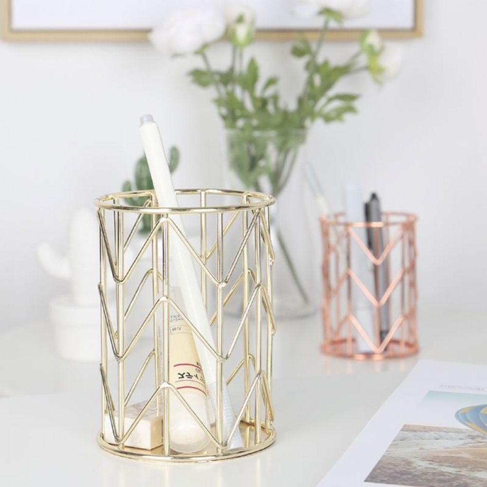 Geometric Design Desk Organizer  Price: $ 9.95 & FREE Shipping    #myhousebeautiful #interiorstyling #homeandliving #nordicdesign #scandinavianstyle #homeinspo #bedroom #bedroomdesign #bedroomdecor