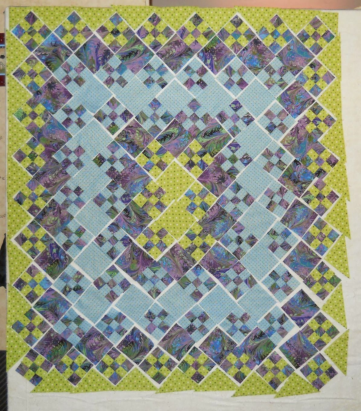 Blooming Nine Patch Quilt Pattern - Bing images | Quilt tutorial ...