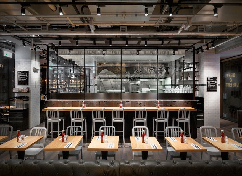 Burger Restaurant Kitchen Layout beef and liberty gourmet burger restaurant hong kong spinoff